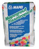 Mapegrout Tissotropico - Mortare cu consistenta vartoasa, aplicare manuala sau mecanizata, pentru reparatii structurale si nestructurale