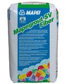Mapegrout SV Fiber - Mortare de reparatii, cu consistenta fluida, cu aplicare prin turnare pentru reparatii structurale si nestructurale