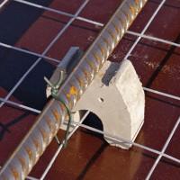 Distantieri pentru armaturi cu protectie impotriva incendiilor - Distantieri fibrobeton individuali