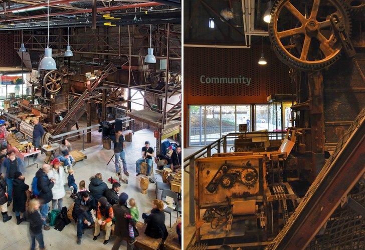 Centrul pentru Orase Verzi 7 - Veche fabrica din Toronto transformata in Centrul pentru Orase Verzi