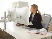 Amplasarea corecta a monitorului este un element-cheie al ergonomiei la birou - Ergonomia si lucrul pe calculator