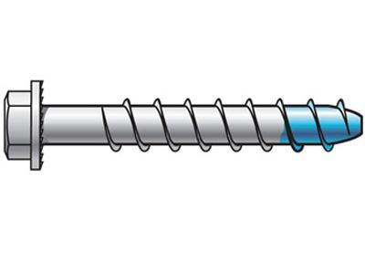Diblu Blue-Tip cu cap hexagonal - INOX A4 - 1.Dibluri