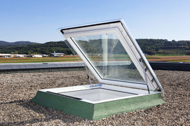 Fereastra de iesire pe acoperis pentru acoperis terasa - CXP - Alte tipuri de ferestre VELUX - 2014