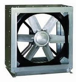 CGT - Ventilatoare carcasate cu carcasa exterioara de protectie anticoroziune prin galvanizare la cald - Ventilatoare axiale pentru tubulatura