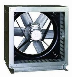 CHGT - Ventilatoare axiale carcasate pentru lucrul la temperaturi de pana la 400°C/2h. - Ventilatoare axiale pentru tubulatura