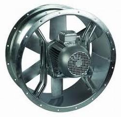 THGT - Ventilatoare axiale cu sectiune circulara pentru functionare la temperature de 400°C/2h - Ventilatoare axiale pentru tubulatura