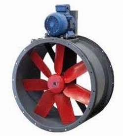 TTT -  Ventilatoare axiale cu sectiune circulara cu transmisie - Ventilatoare axiale pentru tubulatura