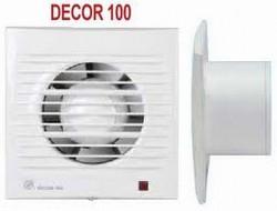 DECOR - Ventilatoare axiale extraplate - Ventilatoare domestice pentru baie