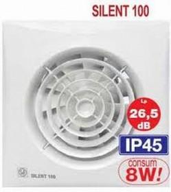 SILENT - Ventilatoare axiale cu nivel redus de zgomot - Ventilatoare domestice pentru baie