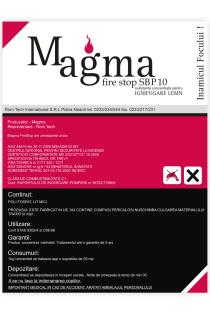 Magma Fire Stop SBP 10 - MAGMA FIRESTOP SBP10 - Ignifugarea lemnului