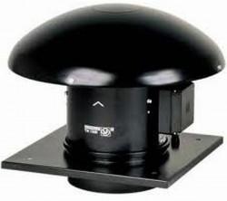 Mixvent-TH - Extractoare axiale centrifugale de acoperis cu baza si palarie de protectie din aluminiu - Ventilatoare pentru acoperis