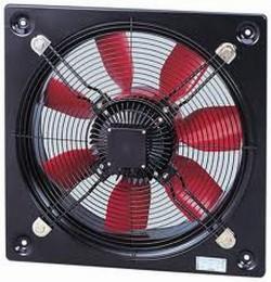 HCBT HCBB - Ventilatoare axiale de perete cu elice din aluminiu - Ventilatoare pentru perete
