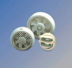 HCM-N - Ventilatoare axiale cu carcasa de plastic ABS - Ventilatoare pentru perete si ferestre