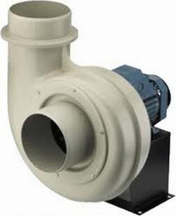 CMPT - Ventilator centrifugal cu aspiratie unilaterala, fabricate din polipropilena, pentru extragerea gazelor corozive - Ventilatoare centrifugale tip melc