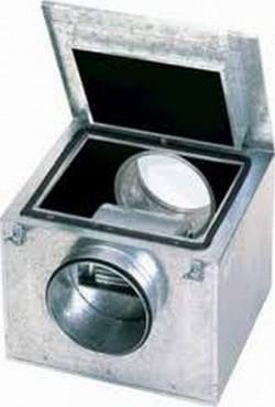 CAB - Cabina de ventilatie etansa, fabricata din tabla de otel galvanizat - Ventilatoare in cabinet acustic