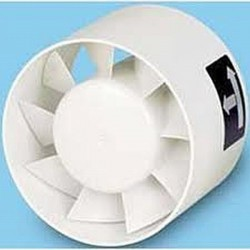 TDM - Ventilatoare axiale cu intercalare in tubulatura - Ventilatoare in linie