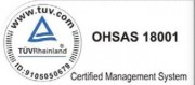 sigla OHSAS Somaco - Certificate
