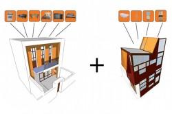 Apartament in Argentina - Apartament din Argentina pune in valoare materialele reciclate