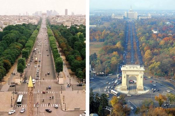 Champs Elysee si Kisselef, valori culturale similare - Champs Elysee si Kisselef, valori culturale similare