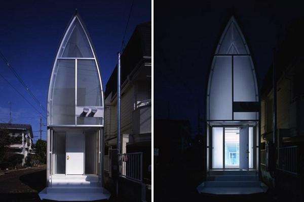 Casa Lucky Drops - Lucky Drops - micro casa care seamana cu o lanterna
