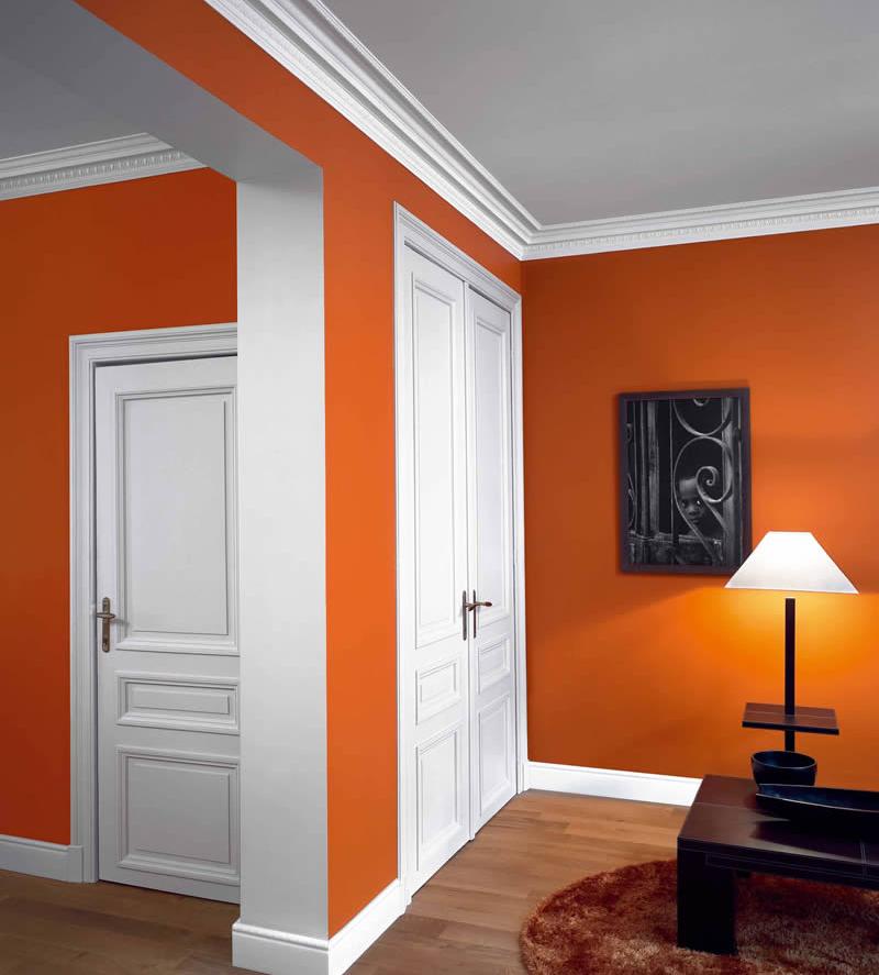 Scafele imbunatatesc estetic imbinarea dintre pereti si plafon (foto stucco-mouldings com) - Scafele imbunatatesc estetic imbinarea