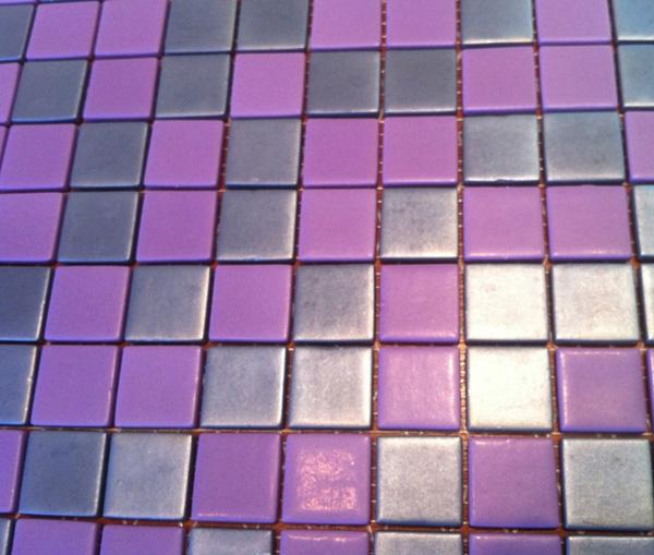 Mozaic sticla colorata