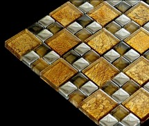 Mozaic sticla metalica textura speciala TM0300 - Mozaic sticla - Sticla metalica diferite forme