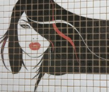 Sticla imprimata TMP0001 - Mozaic sticla - Sticla imprimata