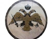 Medalion pentru Biserica - Vulturul Bicefal - Medalioane pentru pardoseli - Vultur