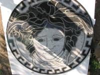Medalion pentru pardosealav - Sidora Capul Medusa - Medalioane decorative pentru pardoseala - Diverse modele