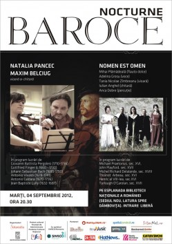 nocturna_2 - Nocturne baroce: Bach, Vivaldi, Scarlatti si Handel pe malul Dambovitei
