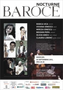 nocturna_3 - Nocturne baroce: Bach, Vivaldi, Scarlatti si Handel pe malul Dambovitei