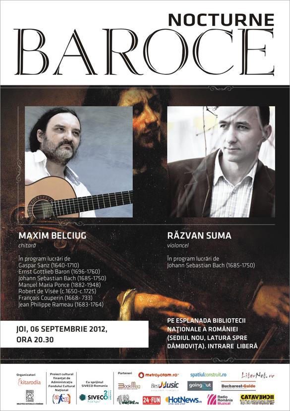 nocturna_4 - Nocturne baroce: Bach, Vivaldi, Scarlatti si Handel pe malul Dambovitei