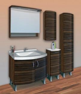 Mobilier de baie ROMA ZEBRANO 80 cm - ROMA ZEBRANO