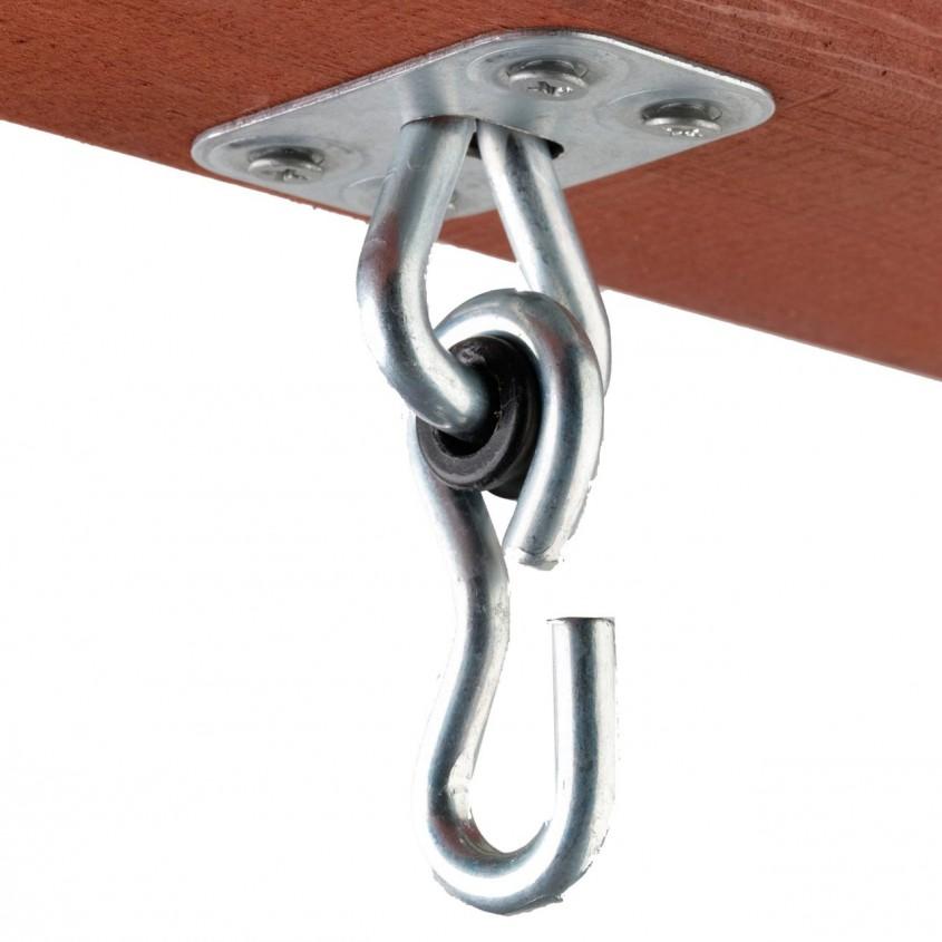 Sistem de prindere pentru carlig si lanturi (foto www playgrounds net) - Unul dintre sistemele de