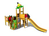 Angry Birds Activity Parks towerplay - Angry Birds elemente