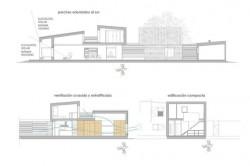 Casa pentru trei surori 14 - O casa pentru trei surori combina nevoile familiilor si designul spaniol