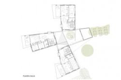 Casa pentru trei surori 12 - O casa pentru trei surori combina nevoile familiilor si designul spaniol