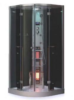 Cabina de dus cu baie de aburi & sauna cu infrarosu OPTIMAL LUX - Cabina de dus cu sauna