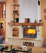Semineu rustic Roquebrune - Seminee rustice