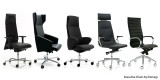 Emmegi executive black - TECHNOseating - Scaune ergonomice