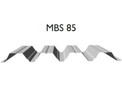 Profil MBS 85 - Tabla cutata cu profil inalt