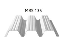 Profil MBS 135 - Tabla cutata cu profil inalt