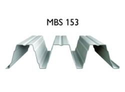 Profil MBS 153 - Tabla cutata cu profil inalt