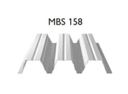 Profil MBS 158 - Tabla cutata cu profil inalt