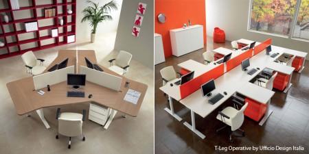 T-leg operative By Ufficio - Birouri executive