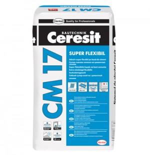 Adeziv Ceresit CM 17 - Adezivi pentru placari interioare si exterioare