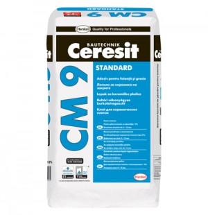 Adeziv Ceresit CM 9 - Adezivi pentru placari interioare si exterioare