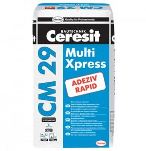 Adeziv Ceresit CM 29 - Adezivi pentru placari interioare si exterioare