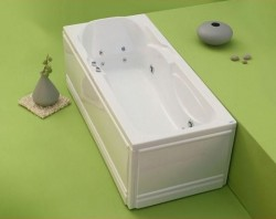 Marlene - cada de baie dreapta din acril antibacterian - Cazi drepte